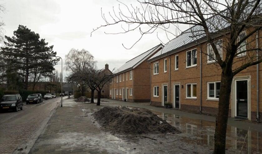 <p>Enkele omwonenden noemen zich &#39;gedupeerd&#39; door de sloop en bouw van de woningen aan de Jan Steenlaan.   Foto:MV</p>