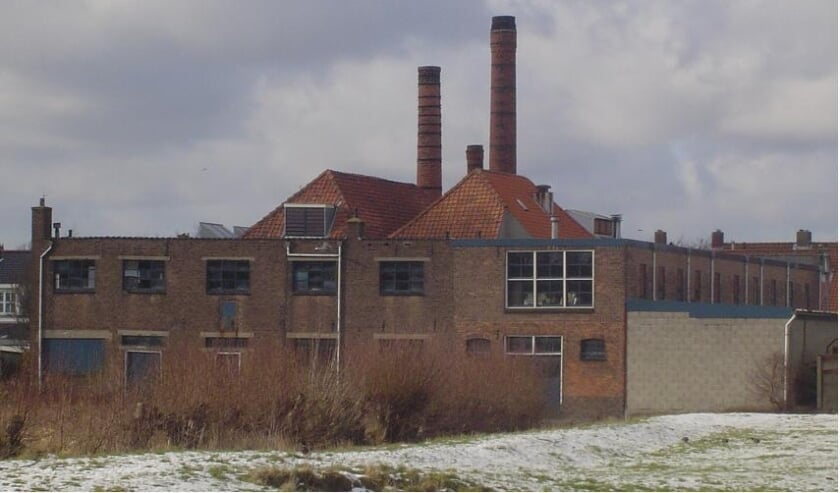 Kleiwarenfabriek Ginjaar in het Leiderdorpse Doeskwartier. | Archieffoto: PR