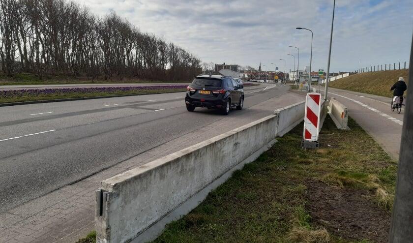 <p>Eenrichtingsverkeer op de Binnensluis komt waarschijnlijk niet meer terug.   Foto: RD</p>