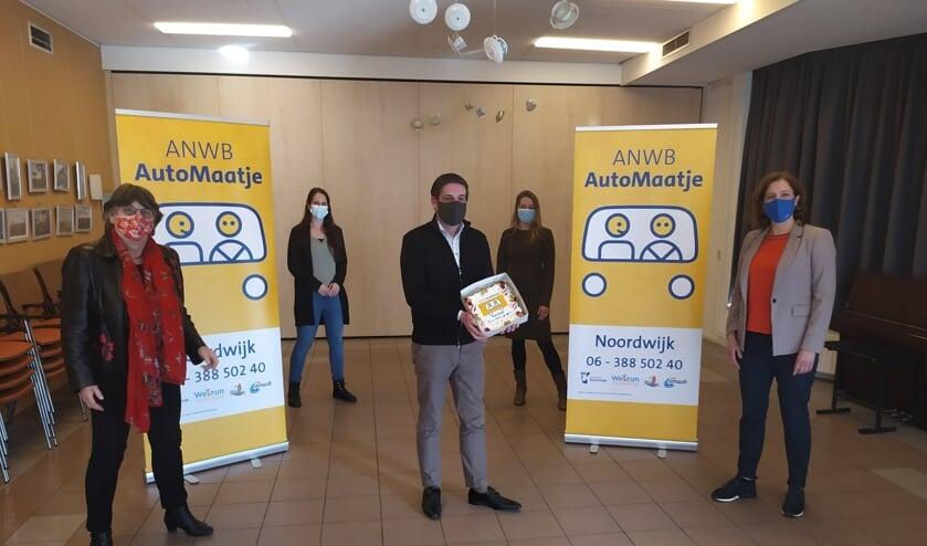 <p>Sinds vorige week is in Noordwijk ook ANWB Automaatje actief. | Foto: PR</p>