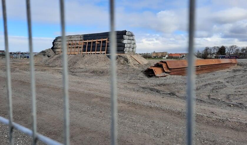 <p>De werkzaamheden aan de Rijnlandroute gaan gewoon door. De verbreding van de N206/Tjalmaweg moet medio 2023 klaar zijn. | Foto: SKvD</p>