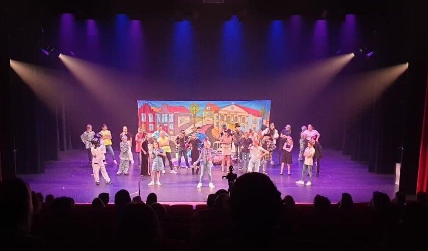 Eindmusical De Witte School in Theater De Muze in 2020.
