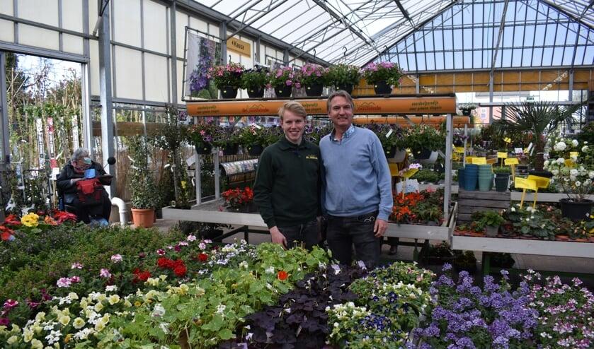 <p>Vader William en zoon Sander, de tweede en derde generatie van het familiebedrijf.</p>