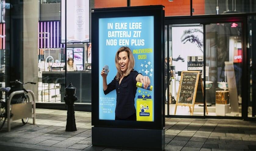 De nieuwe campagne van Stibat is in het straatbeeld te zien.