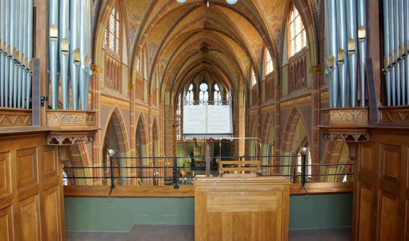 Het Adema-orgel in de Agathakerk wordt 12 mei bespeeld door vijf organisten.