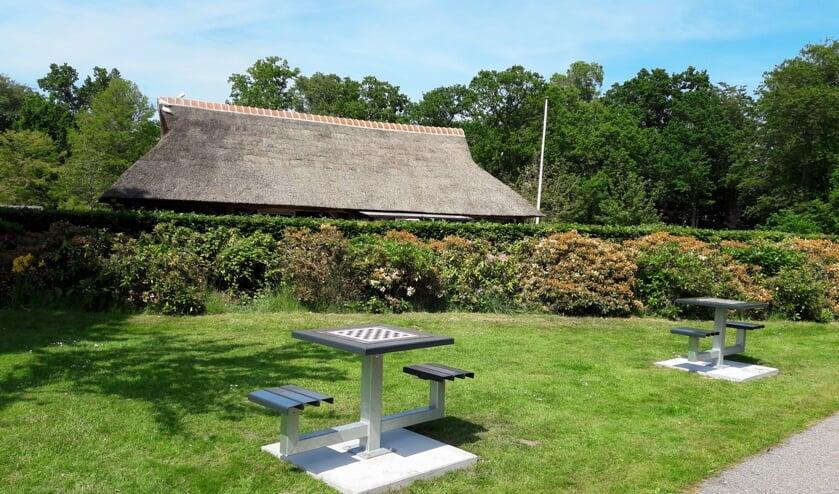 <p>&nbsp;Teylingen is de 28e gemeenten in Nederland met schaaktafels in de buitenruimte. | Foto: MV</p>